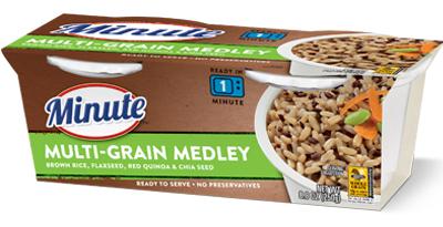 Minute Multi Grain Medley We Can Help